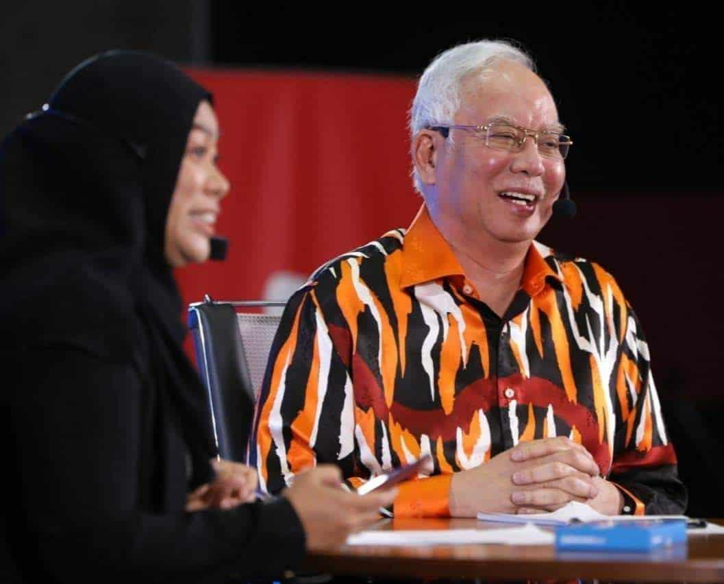 """Najib """"berangan"""" jadi menteri kewangan"""