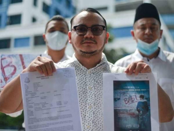 """Pemuda PN buat laporan polis filem """"Babi"""" yang tidak ditayangkan di Malaysia"""