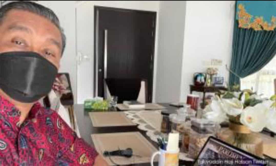 Pembatalan Ordinan Darurat, Takiyuddin sekali lagi gagal hadir ke parlimen