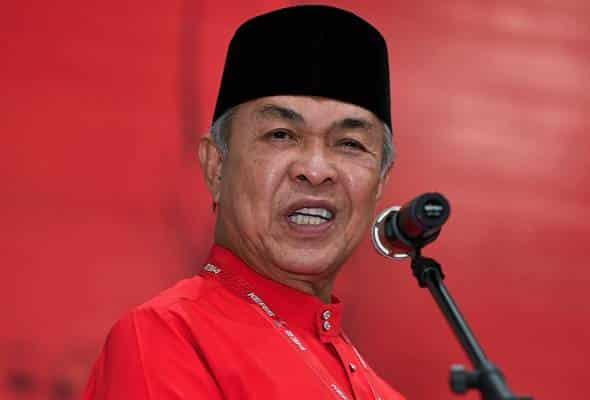 Bertanding solo di Melaka, Zahid beri amaran tiada lagi perbincangan dengan parti musuh